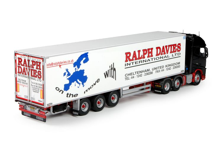 Volvo FH04 Globetrotter XL Davies Ralph