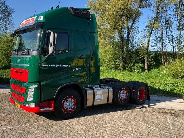 Volvo FH04 Globetrotter XL mit Kuehlanhaenger Duijn Transport