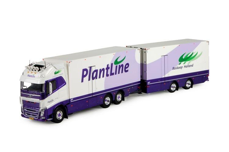 Volvo FH04 Globetrotter XL rigid truck  trailer Plantline