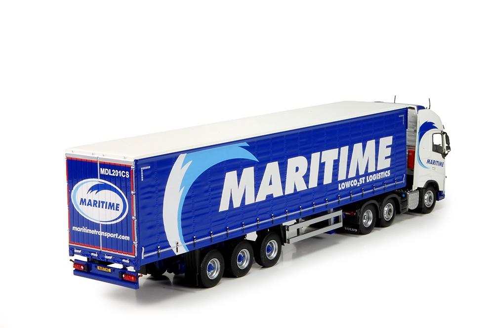 Volvo FH04 Globetrotter XL Schiebeplanen  Maritime