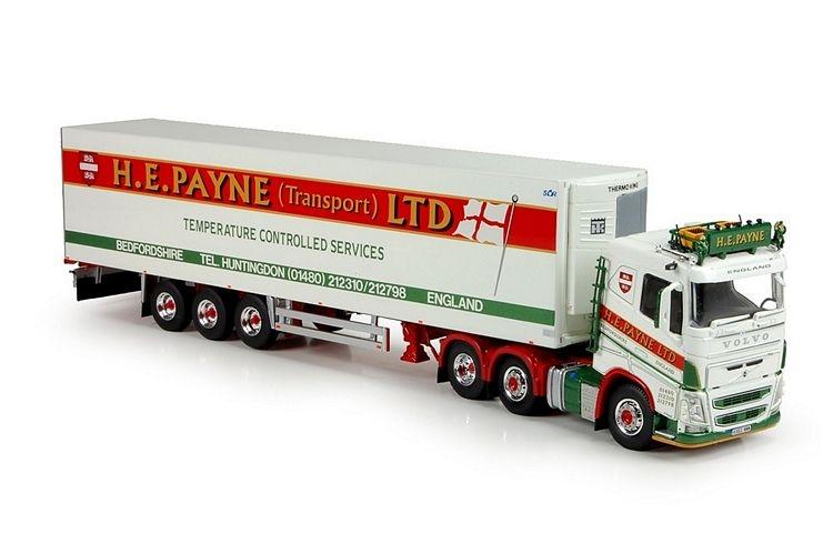 Volvo FH04  Kuehlauflieger Payne HE