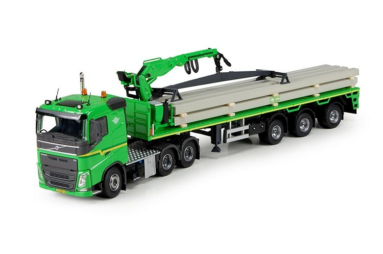Volvo FH04 Long 6x4 Steinauflieger Ladung