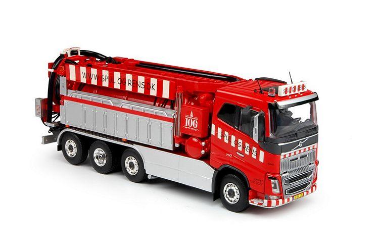 Volvo FH04 Saugwagen Spul Og Rens