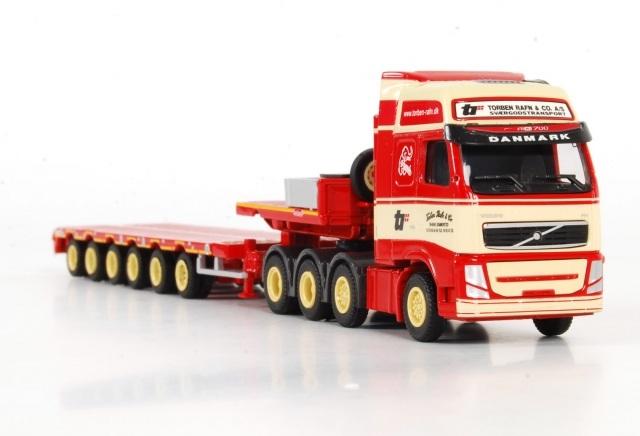 Volvo FH3 8x4 semi lowloader 6 axle Torben Rafn