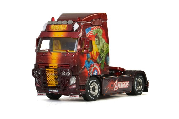 Volvo FH3 Globetrotter 4X2 Transport Beau Avengers