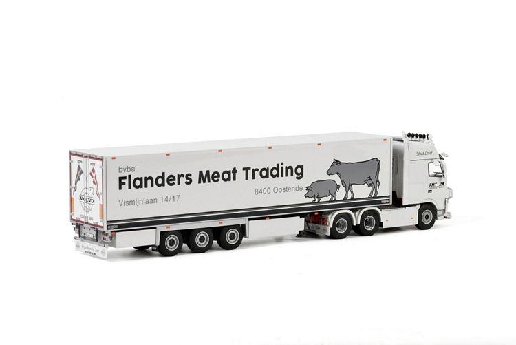 Volvo FH3 Globetrotter XXL Reefer  Flanders Meat
