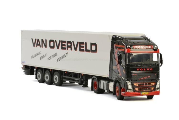 Volvo FH4 Globe. Boxtrailer Transport van Overveld
