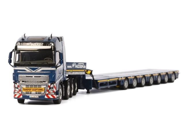 Volvo FH4 Globe. Broshuis SL Wocken