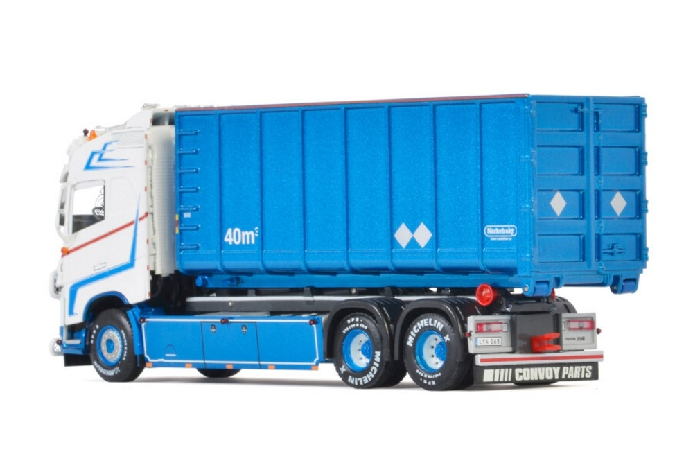 Volvo FH4 Globe. Hooklift System Container Loods Akeri