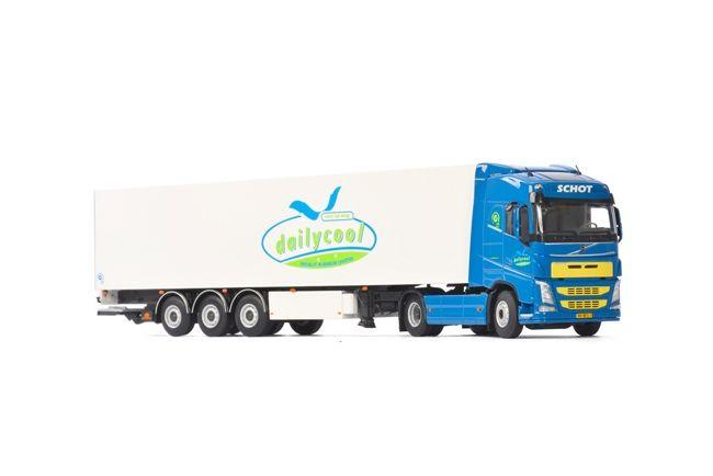 Volvo FH4 Globe. Kühlauflieger Dailycool