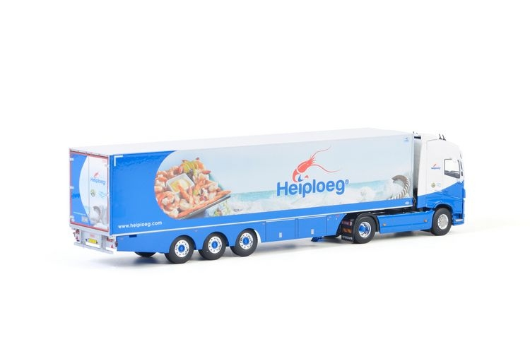 Volvo FH4 Globe. Reefer Trailer  Heiploeg