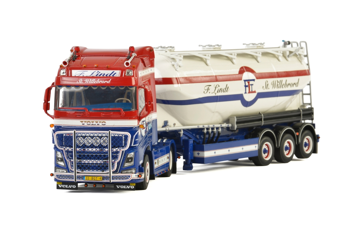 Volvo FH4 Globe. Siloauflieger  F. Lindt Transport
