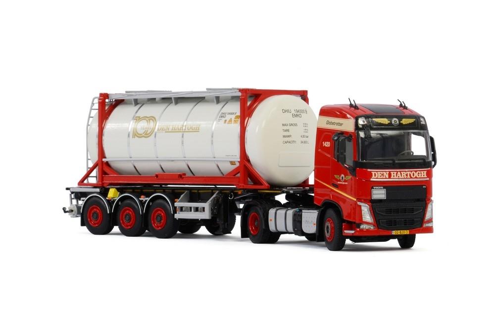 Volvo FH4 Globe. Tank Container Den Hartogh Logistics
