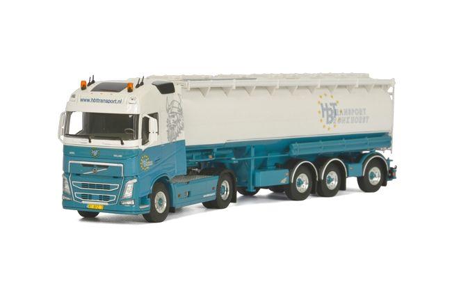 Volvo FH4 Globe. Tankauflieger HBT Transport