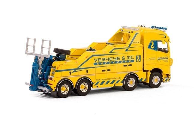 Volvo FH4 Globe. Wrecker Depannage Verheye & MC