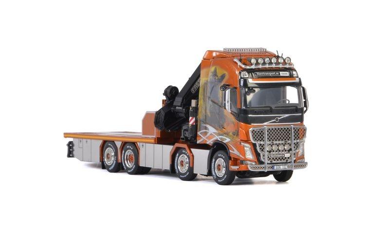 Volvo FH4 Globe. XL Fassi 1100 Norrtransport AB Viking