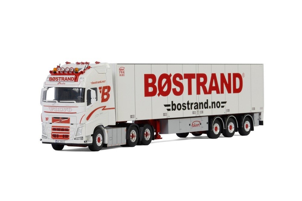 Volvo FH4 Globe. XL  Reefer Trailer   Bostrand
