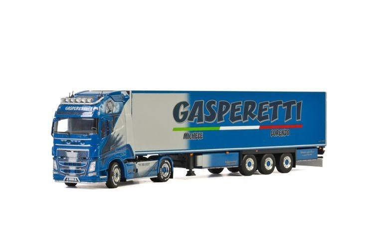 Volvo FH4 Globe. XL Reefer Trailer Gasperetti