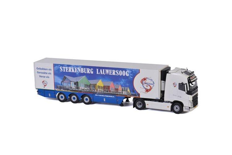 Volvo FH4 Globe. XL Reefer Vishandel Sterkenburg