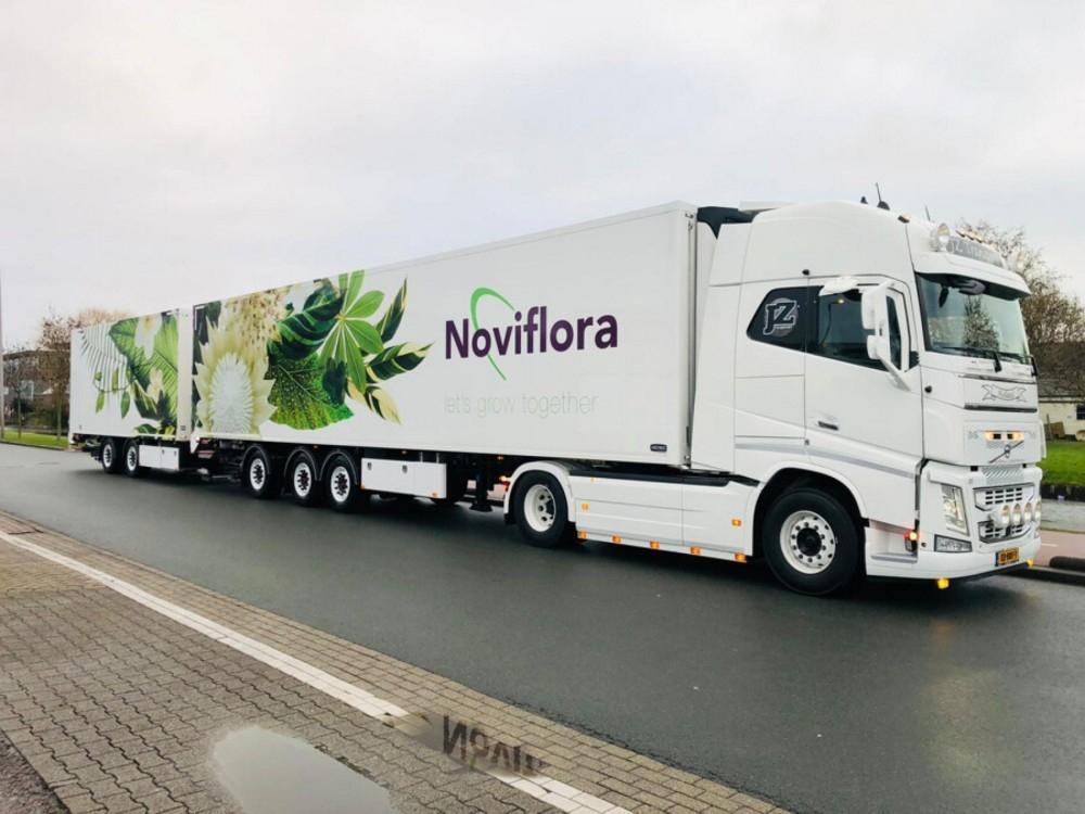 Volvo FH4 Globe. XL Refrigerated  JZ Transport Noviflora