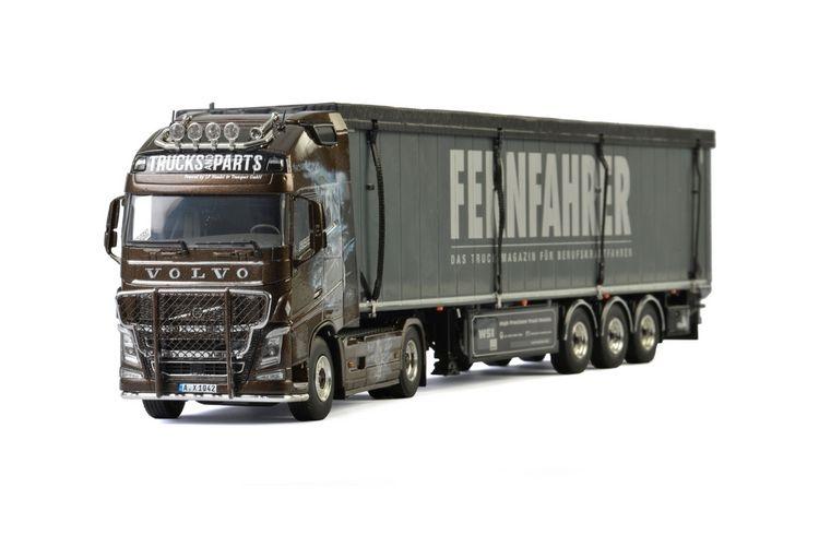 Volvo FH4 Globe. XL Schubbodenauflieger LF Transporte