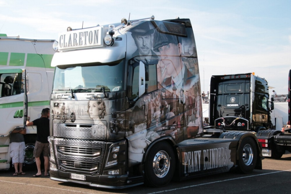 Volvo FH4 Globe. XXL  Clareton  Peaky Blinders