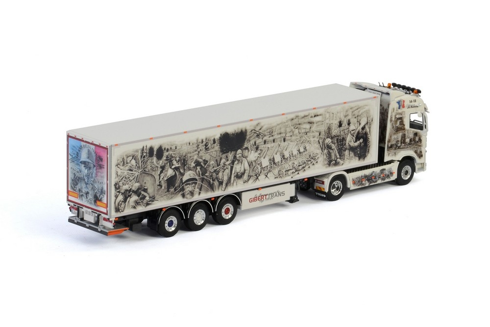 Volvo FH4 Globetrotter Box trailer  Giberttrans