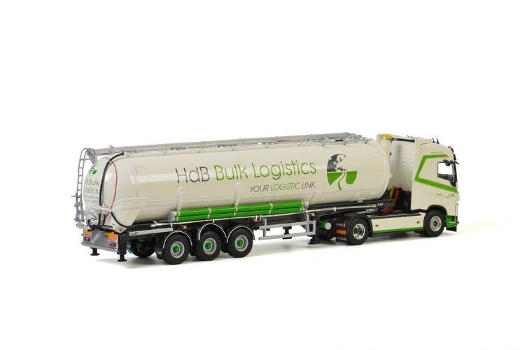 Volvo FH4 Globetrotter Bulk Trailer  HdB Bulk Logistics