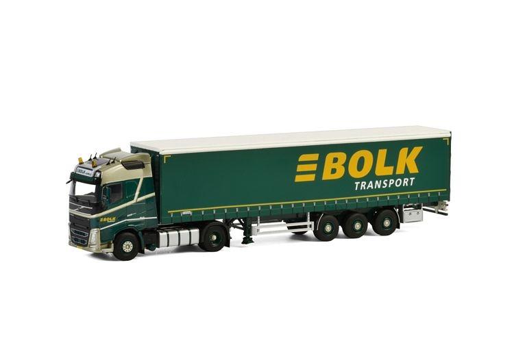 Volvo FH4 Globetrotter Curtainside Bolk Transport