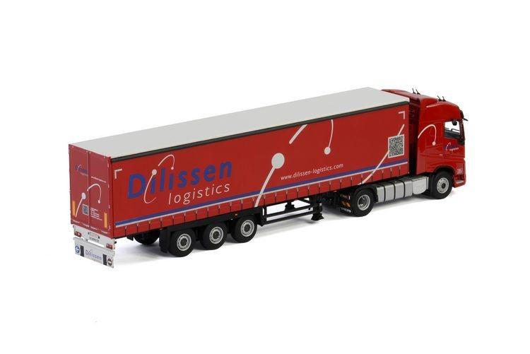 Volvo FH4 Globetrotter Curtainside  Dilissen Logistics