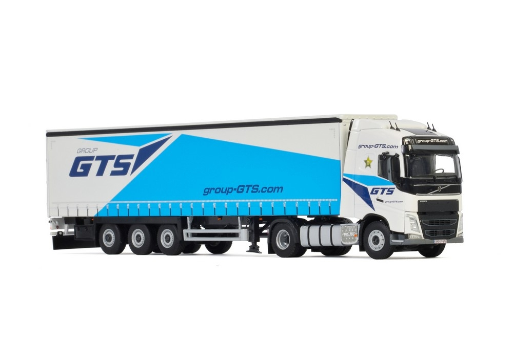 Volvo FH4 Globetrotter Curtainside  Group GTS
