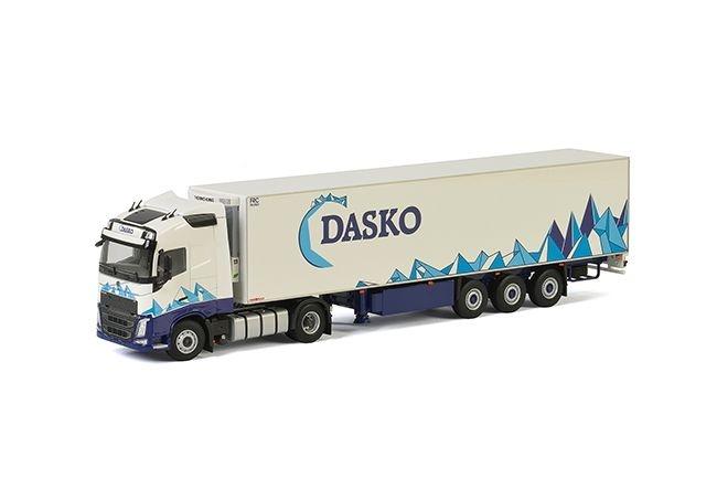 Volvo FH4 Globetrotter Kuehlauflieger  Dasko