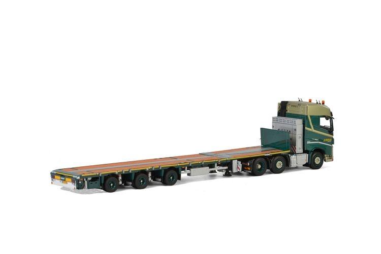 Volvo FH4 Globetrotter  Megatrailer Flat  Bolk Transport