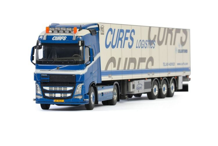 Volvo FH4 Globetrotter Reefer  Curfs Transport
