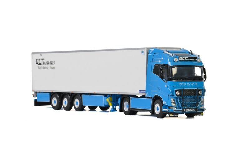 Volvo FH4 Globetrotter Reefer Trailer  QC Transports