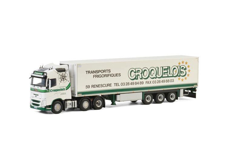Volvo FH4 Globetrotter Reefer Transport Croquelois