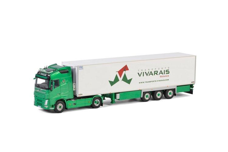 Volvo FH4 Globetrotter Reefer  Vivarais