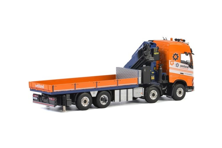 Volvo FH4 Globetrotter Riged Flat Bed Weiland