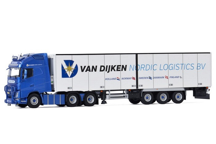 Volvo FH4 Globetrotter XL Reefer   Van Dijken Transport