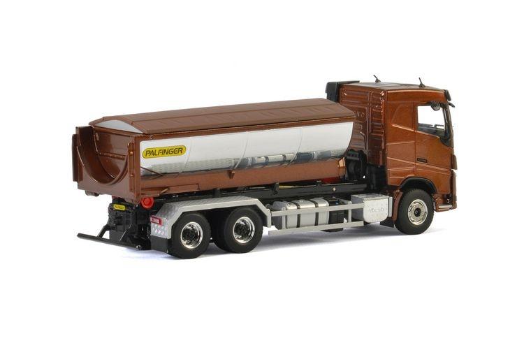 Volvo FH4 SC  Hooklift Container Asphalt Palfinger
