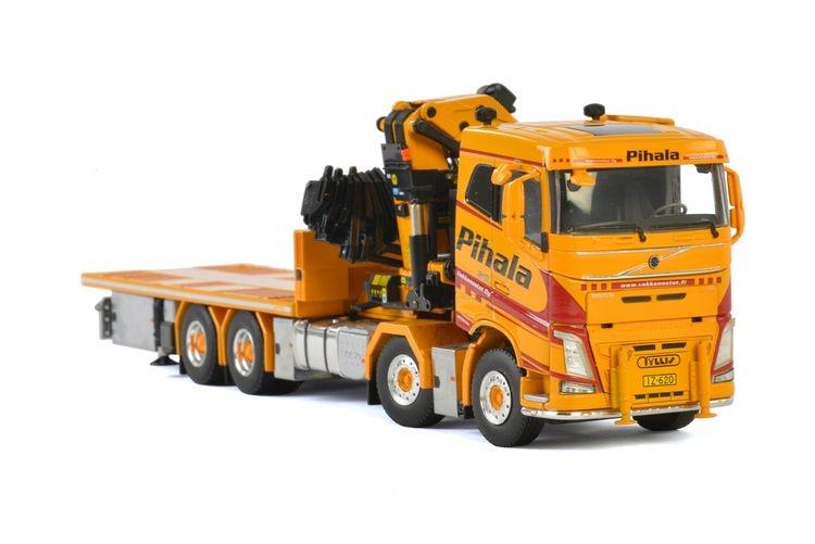 Volvo FH4 SC Riged truck  Palfinger Pihala  Rantala