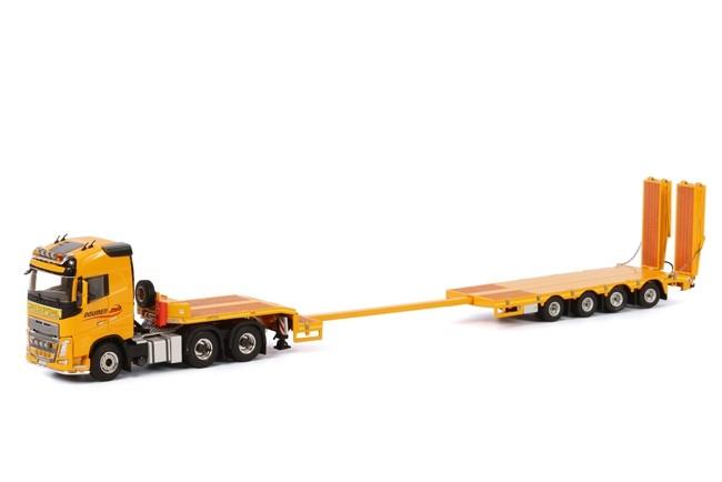 Volvo FH4 SC Semi Lowloader  Doumen