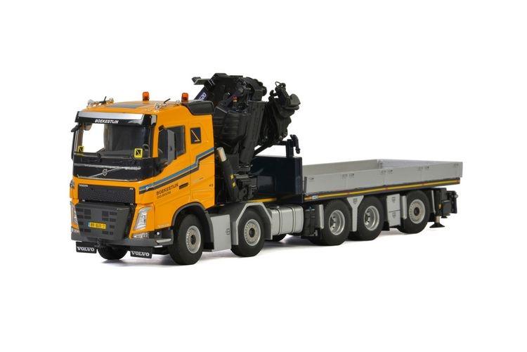 Volvo FH4 SC Truck Mounted Crane  JIB Boekestijn