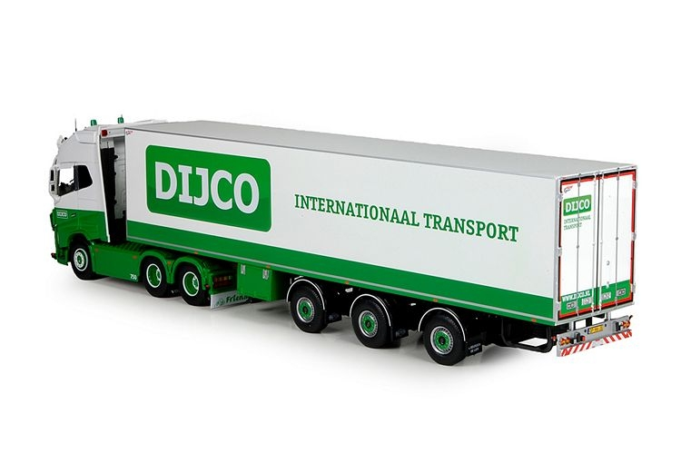 Volvo Globetrotter XL Reefer container Dijco
