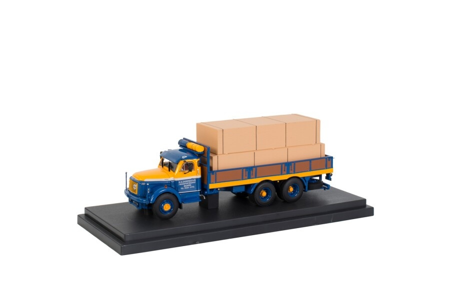 Volvo N88 Torpedo 6x4 Bakwagen   Eemtrans