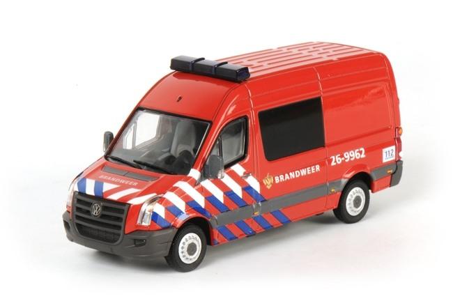 VW Crafter Fire Department NL