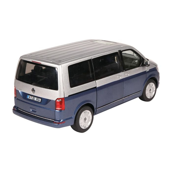 VW T6 Multivan Generation Six blau silver