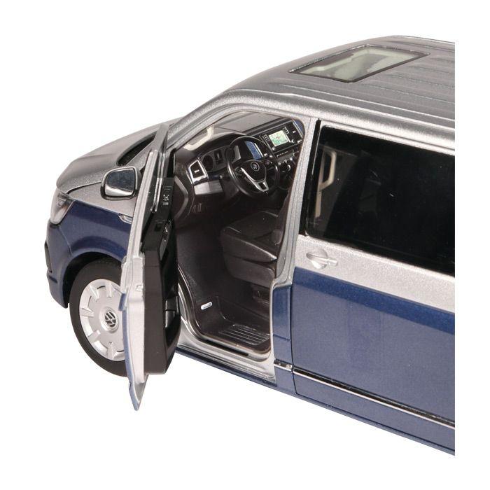 VW T6 Multivan Generation Six blau silver