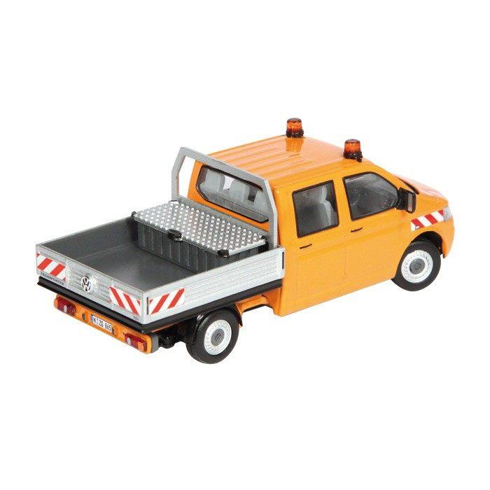 VW Volkswagen T5 Doppelkabine Pritsche orange
