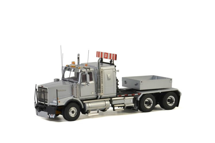 Western Star 4900 grey Ballast Box Silver